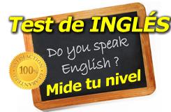 Test de evaluación del nivel de inglés
