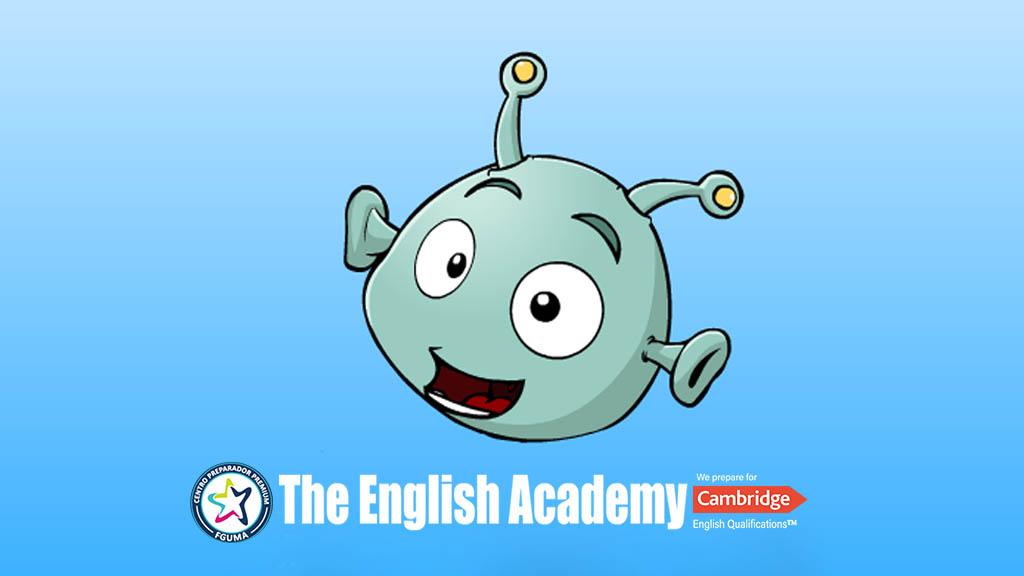 Un alien llega a la tierra y debe aprender inglés. ¿Le ayudas?