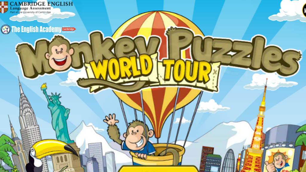 """Monkey Puzzle World Tour – Practica el """"listening"""""""
